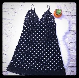 Victorias Secret VS lingerie polka dot black